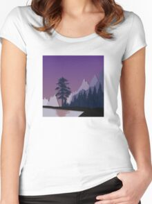 My Nature Collection No. 17 Women's Fitted Scoop T-Shirt