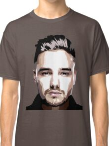 Short hair vector portrait Classic T-Shirt