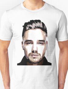 Short hair vector portrait Unisex T-Shirt