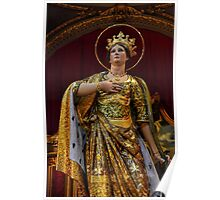 St Catherine' Statue Poster
