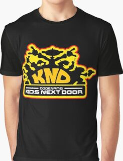 Codename: Kids Next Door Graphic T-Shirt