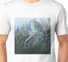 Between darkness and light Unisex T-Shirt