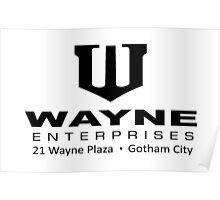 Wayne Enterprises Poster