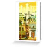 Canvas City Greeting Card