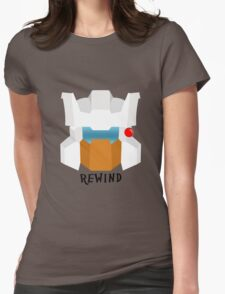 Autobot Rewind Womens Fitted T-Shirt
