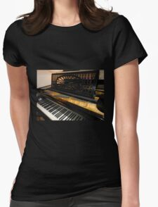 Bechstein Mini Grand Piano - Keyboard Close-up Womens Fitted T-Shirt