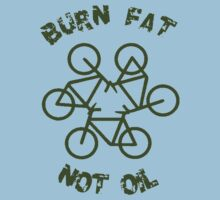Burn Fat Not Oil - Recycle One Piece - Short Sleeve