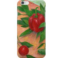 still life with pepper iPhone Case/Skin