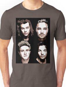 group vector portrait Unisex T-Shirt