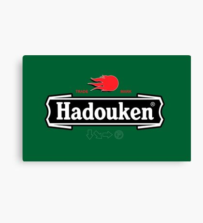 Brewhouse: Hadouken Canvas Print