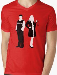 Castle& Beckett Mens V-Neck T-Shirt