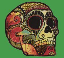 Grunge Skull Kids Tee