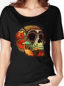 Grunge Skull Women's Relaxed Fit T-Shirt