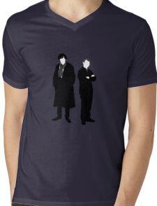 Holmes and Watson Mens V-Neck T-Shirt