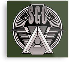 Stargate Command Metal Print