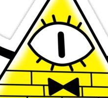 Gravity Falls Bill Cipher Sticker