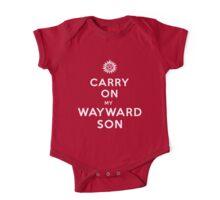 Carry on (My wayward son) One Piece - Short Sleeve
