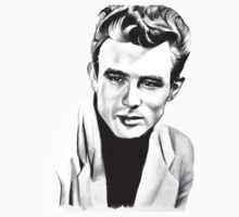Classic actor Graphite pencil portrait One Piece - Long Sleeve