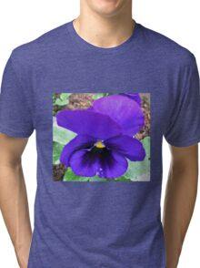 Blue Velvet Tri-blend T-Shirt