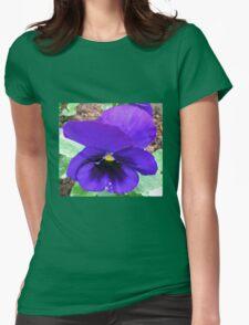 Blue Velvet Womens Fitted T-Shirt