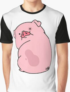 Gravity Falls Waddles Pig Graphic T-Shirt