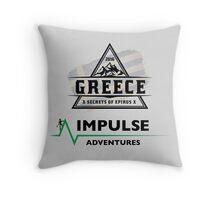 Secrets of Epirus Stationary Throw Pillow