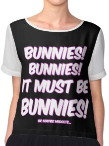It must be bunnies Chiffon Top