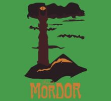 Mordor vintage travel poster One Piece - Short Sleeve