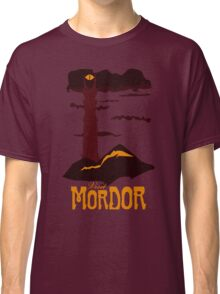 Mordor vintage travel poster Classic T-Shirt