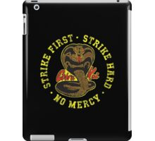 Cobra kai - Distressed Variant 2 iPad Case/Skin