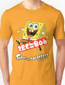 Splatfest Team Spongebob v.3 Unisex T-Shirt