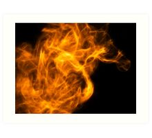 Don't Lose Your Fire. Art Print