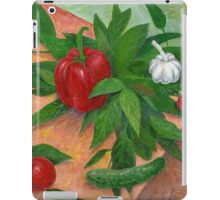 still life with pepper iPad Case/Skin