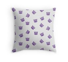 Decepticon Symbol Throw Pillow