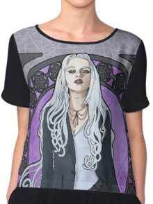Queen of Air and Darkness Chiffon Top