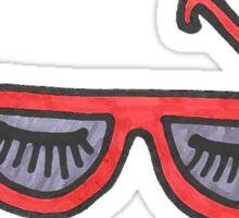 BeYOUtiful Beauty Glasses Sticker