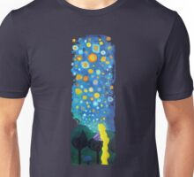 Looking from a window Unisex T-Shirt