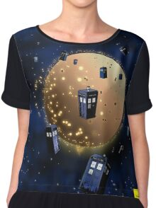 Gallifrey Stands! Chiffon Top