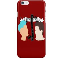Troye & Halsey + ribbons iPhone Case/Skin