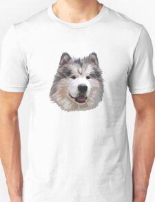 Cute Alaskan Malamute Unisex T-Shirt