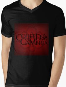 COHEED & CAMBRIA RED LOGO BEST Mens V-Neck T-Shirt