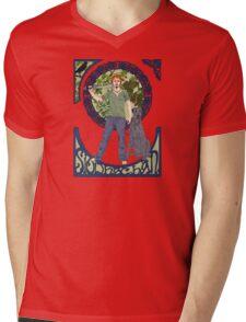 Siodachan Mens V-Neck T-Shirt