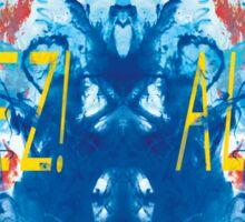 ALLEZ! ALLEZ! - Diptych Sticker