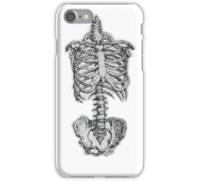Skeleton in White iPhone Case/Skin