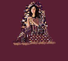 Portrait of Clara Oswin-Oswald a la Klimt Unisex T-Shirt