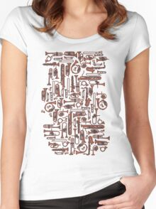 Horns COPPER Women's Fitted Scoop T-Shirt