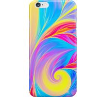 abstract wave psychedelic oil background. Fractal artwork for creative design. iPhone Case/Skin
