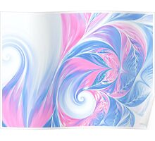 abstract wave psychedelic oil background. Fractal artwork for creative design. Poster