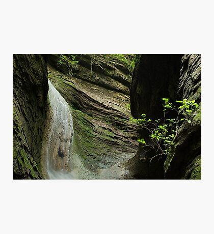 Canyon waterfall Photographic Print