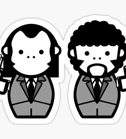Vincent Vega and Jules Winnfield Sticker